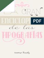 Enciclopedia Tipografías GRATIS Creative Mindly
