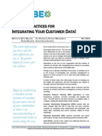 10 Best Practices for Integrating Your Customer Data