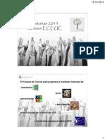 Presentación Tutoría 2015