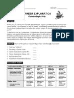 career exploration  assessment rubric outline handout