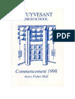 Stuyvesant High School Commencement 1998