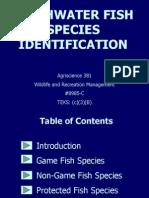 Identification Freshwater Fish