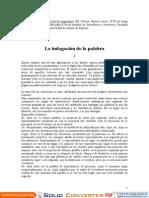 Borges, Jorge Luis -El Idioma de Los Argentinos (Selección)