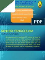 Recuperacion de Oro en Yanacocha