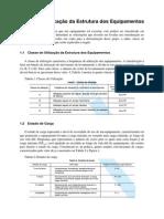 RelatórioClassificação da Estrutura dos Equipamentos