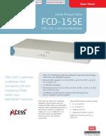 FCD-155E Manual