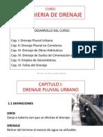 Cap. I - Drenaje Pluvial Urbano