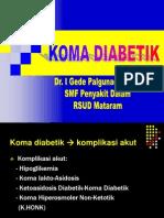 Pkb 2008 - Koma Diabetikum