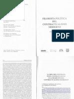 Kersting, Fil Pol Contractualismo Moderno, La Idea Del Contrato en El CS