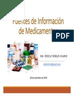 Fuentes Informacion Medicamentos