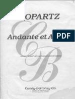 J. Guy Ropartz - Andante Et Allegro