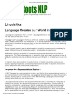 Grassroots NLP About Languages