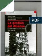 La Gestión Del Disenso - Capítulo Mario Riorda