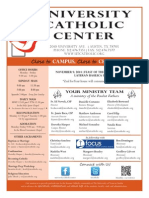 UCC Bulletin 11-09-2014
