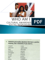 Cultural Awareness 5to Año Noct