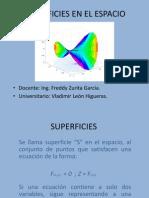 Superficies en El Espacio97-2003,Vladimir Leon