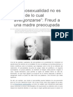 Carta Freud a Una Madre