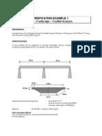 Footfall Verification Example