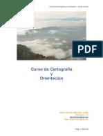 Navegación, cartografia y orientacion