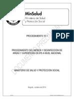Procedimiento N°15.1_ Desinfección IPS No Designada