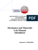 MEMB221 Lab Manual