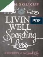 Living Well, Spending Less Sample