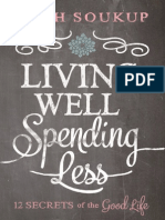 Living Well, Spending Less Sample