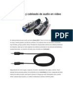 Conexiones y Cableado de Audio en Video