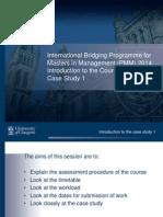 PMM Case Study 1 Introduction 2014 - Copy