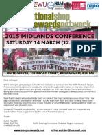 Midlands Conference 2015 First Flyer