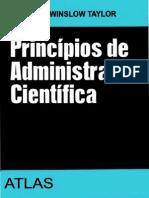 Principios Administração Cientifica