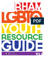 Durham LGBTQ Youth Resource Guide 2015 V1.1