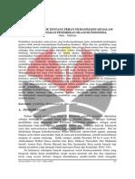 05 Studi Literatur Tentang Peran Muhammadiyah Dalam Mengembangkan Pendidikan Islam Di Indonesia - Mapidin