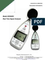 AWA6291-Real Time Analyzer - 2