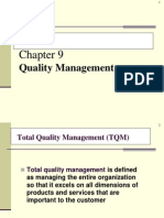 Analytical Tools for Quality, Six Sigma and Continuous Improvement