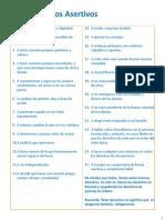 25 derechos asertivos