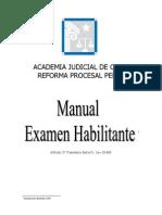 Manual Examen Habilitante Academia Judicial 122011
