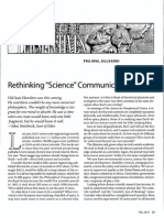 Kulkarni - Rethinking science communication