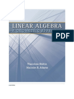 Linear Algebra .ageometric Approach W.H.freeman