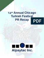 12th Annual Chicago Turkish Festival Recap