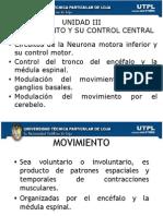 EL MOVIMIENTO Y SU CONTROL CENTRAL