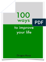 100 Ways to Improve Your Life Pwyl