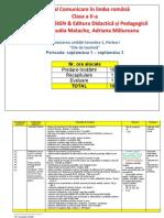 Proiectare Unitatea 1 Clr Cls2 Vol1 Ascendia Edp