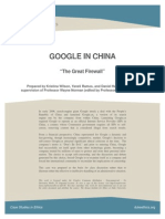 Case Study Google in China 1