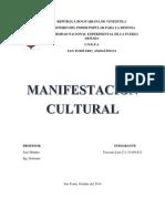 Manifestación Cultural