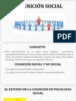 Cognición Social Diapositivas