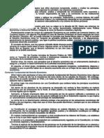 Objetivos Generales y Específicos de Derecho económico