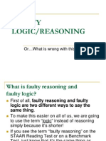couch ppt- faulty logic