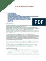 Responsabilidad Del Auditor Informar Errores e Irregularidades