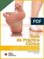 Guía Heridas y Pie Diabético2014